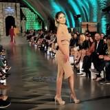 Top model Nataša Milosavljević na reviji foto: privatna arhiva